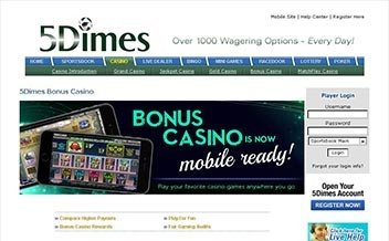Screenshot 2 5Dimes Casino