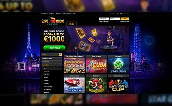 Screenshot 1 EuroMoon Casino