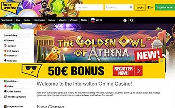 Screenshot 1 Interwetten Casino