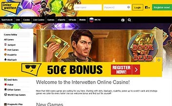 Screenshot 2 Interwetten Casino