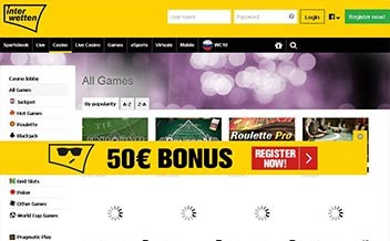 Screenshot 3 Interwetten Casino
