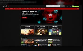 Screenshot 1 Betsafe Casino