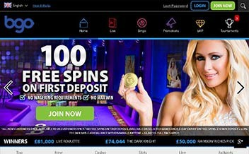 Screenshot 3 BGO Casino