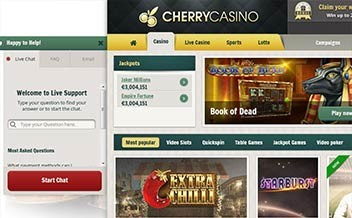 Screenshot 1 Cherry Casino