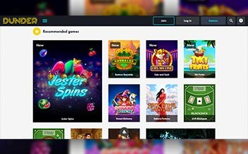 Screenshot 3 Dunder Casino