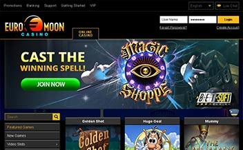 Screenshot 2 EuroMoon Casino