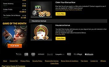 Screenshot 3 EuroMoon Casino
