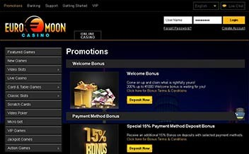 Screenshot 4 EuroMoon Casino