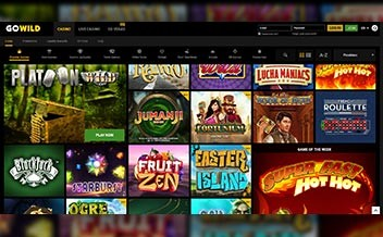 Screenshot 2 GoWild Casino